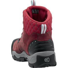 Keen Revel III Shoes Women Racing Red/Eggshell